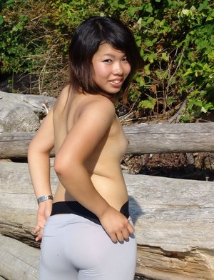 Yoga Pants Asian Pics